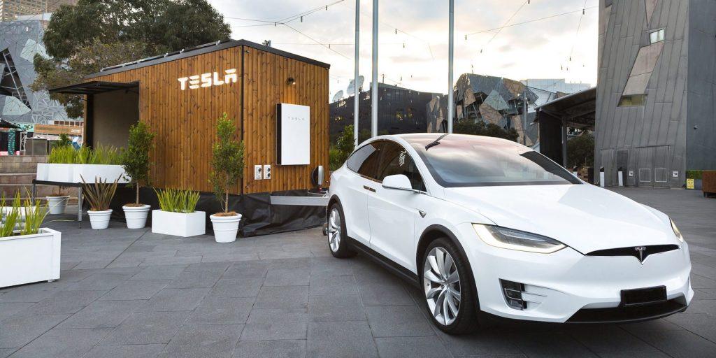 Solárny mini domček spoločnosti Tesla