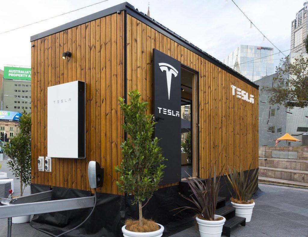 Solárny mini dom spoločnosti Tesla